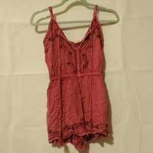 Other - Adorable, chic, purple/pink romper! Size: small